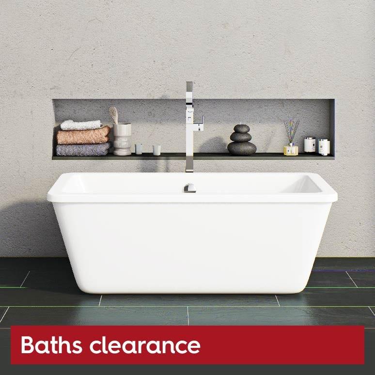Baths clearance