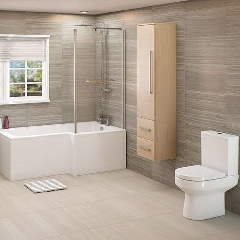 Luxury bathroom suites uk from 149 for Bathroom suites