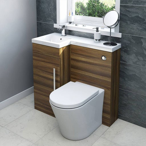 Bathroom Vanity Units With Basin And Toilet | shoe800.com