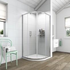 Clarity 6mm quadrant shower enclosure