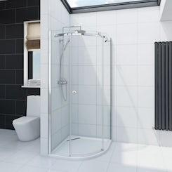 Mode Infiniti 8mm quadrant shower enclosure
