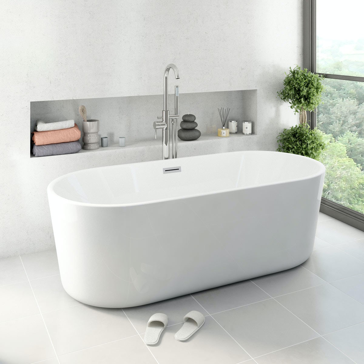 Ocean Freestanding Bath Small Special Offer