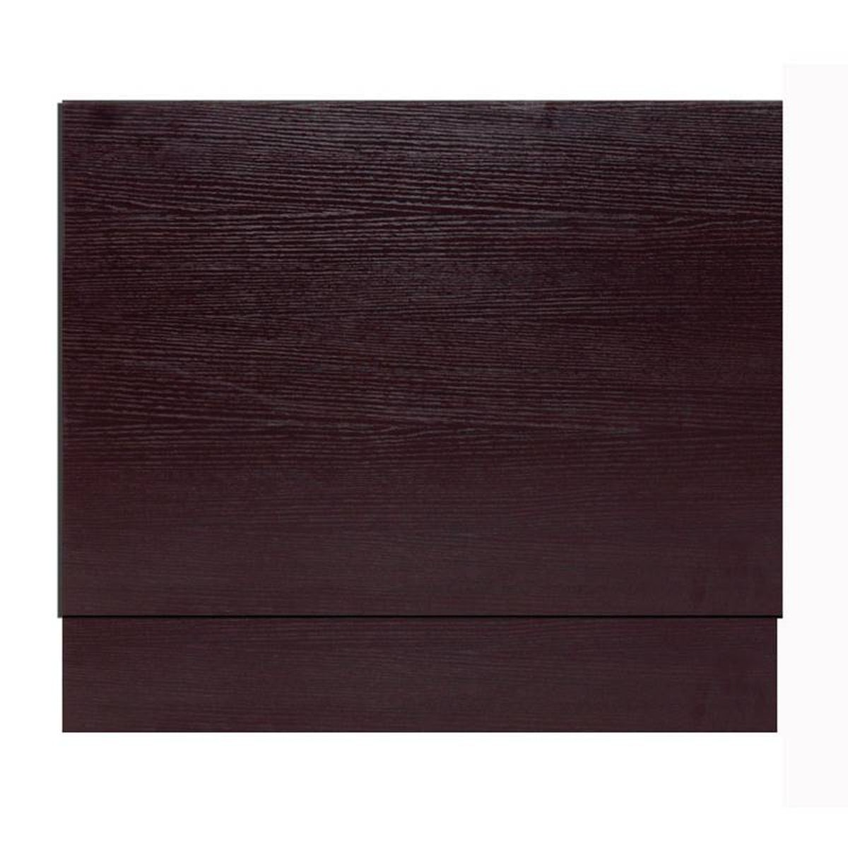 Wenge Effect Bath End Panel 700 VictoriaPlum.com. Full resolution  photograph, nominally Width 1200 Height 1200 pixels, photograph with #884444.
