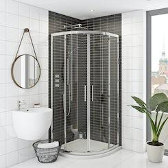 Mode Rand premium 8mm easy clean quadrant shower enclosure